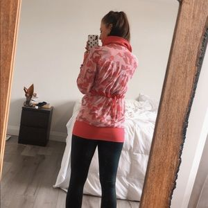 Reversible Floral Lululemon Jacket